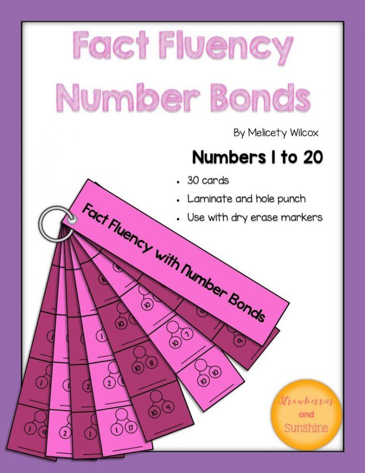 Math Fact Fluency Number Bonds