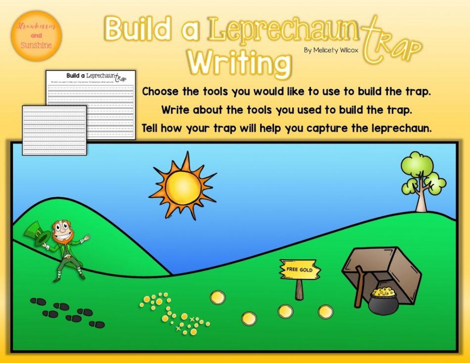 https://www.teacherspayteachers.com/Product/St-Patricks-Day-Writing-Build-A-Leprechaun-Trap-3041325