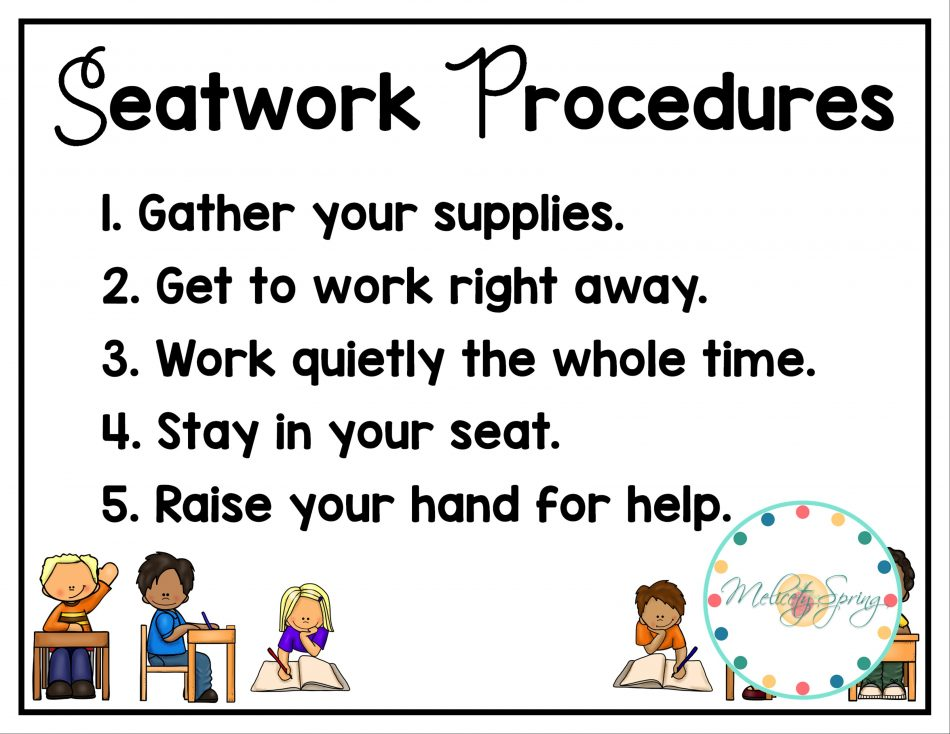 Daily Five Expectations and Procedures