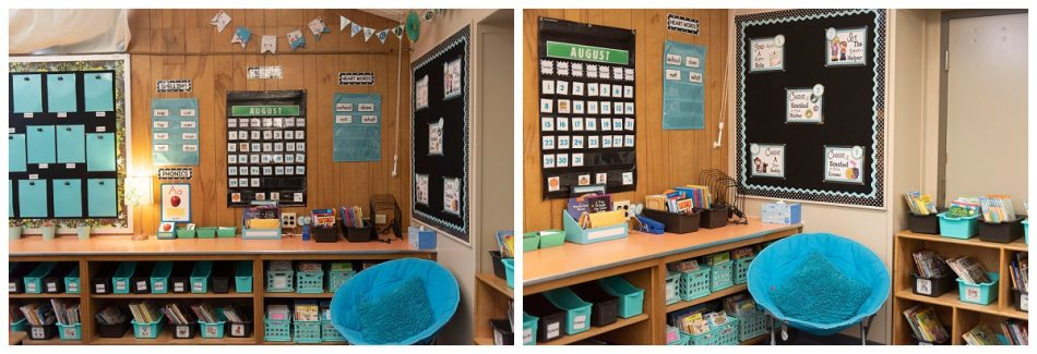 first grade classroom library