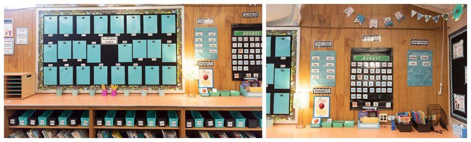 first grade focus wall